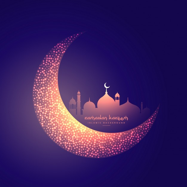 creative-moon-and-glowing-mosque-design_1017-2882